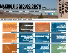 Making the Geologic Now